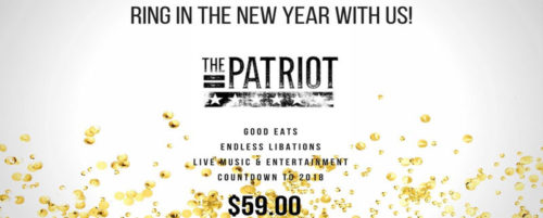 New Year's Eve at The Patriot