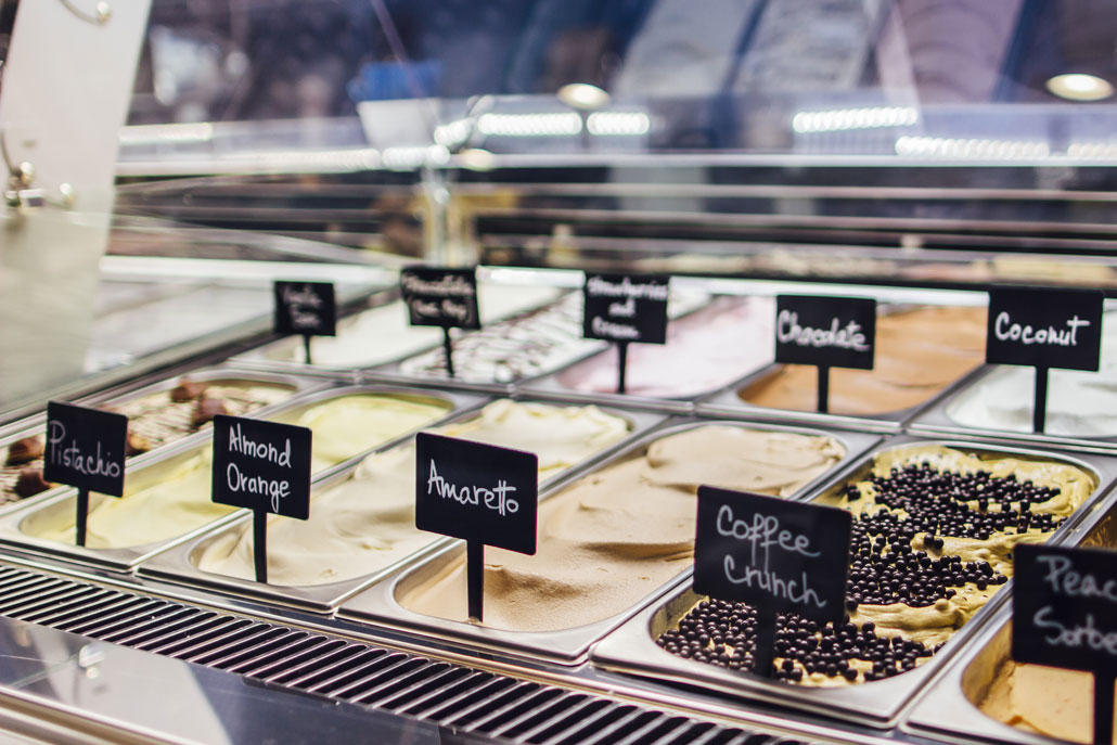 gelatto ice cream shop carmichael